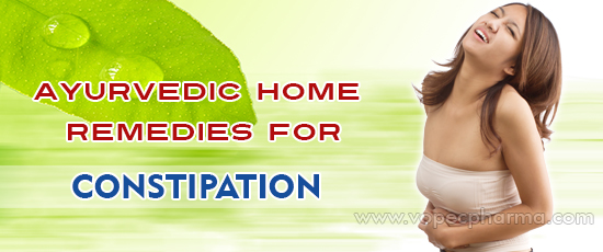 Ayurvedic Home Remedies for Constipation