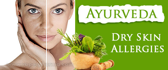 Ayurveda for Dry Skin Allergies, Skin Allergy Treatment In
