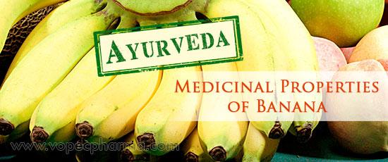 Medicinal Properties of Banana