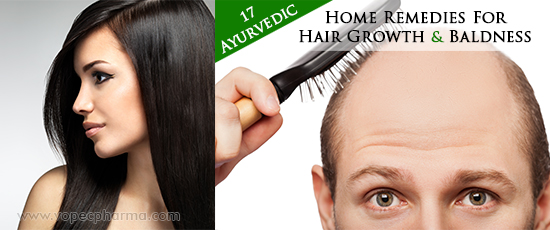 Ayurvedic Home Remedies For Hair Growth and Baldness