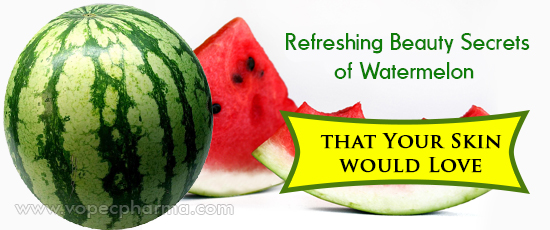 Beauty Secrets of Watermelon