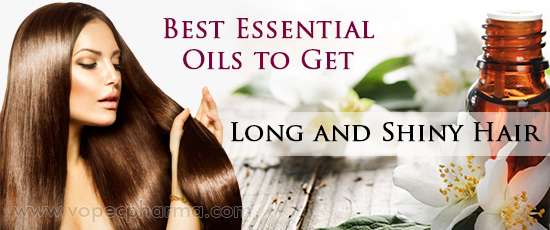 Best Essential Oils to Get Long and Shiny Hair