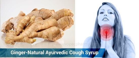 Ginger-Natural Ayurvedic Cough Syrup
