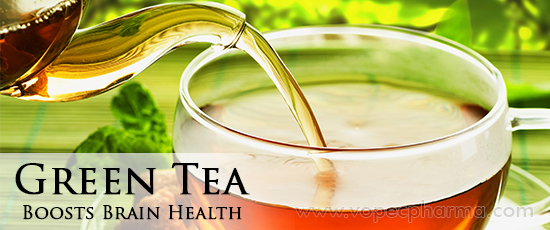 Green Tea Boosts Brain Health