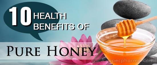 Health Benefits of Pure Honey
