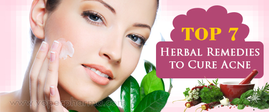 Herbal Remedies to Cure Acne