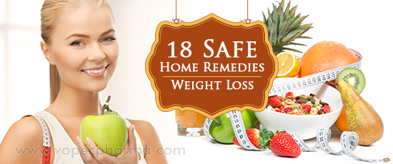 18 Safe Home Remedies for Weight Loss