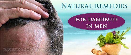 Natural remedies for dandruff in men