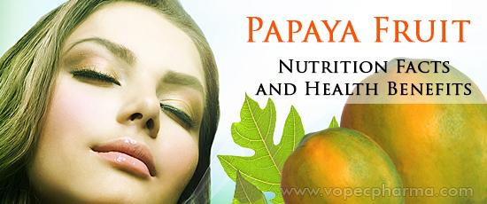 Papaya Fruit Nutrition
