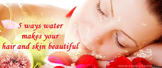 water hair skin